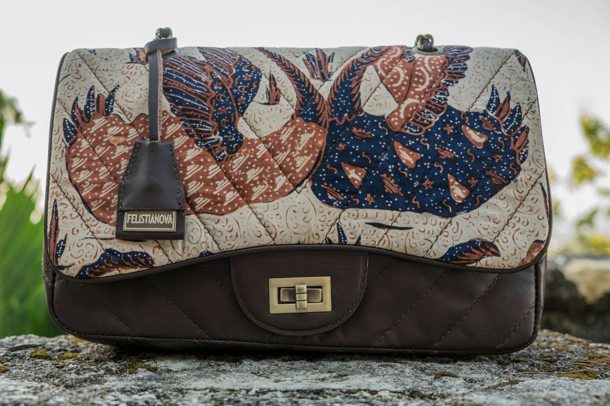 Felistianova - Arawinda Batik Banyumasan Leather Quilted Bag