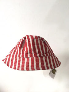 FN - Two Sides Batik Garutan Stripe Bucket Hat