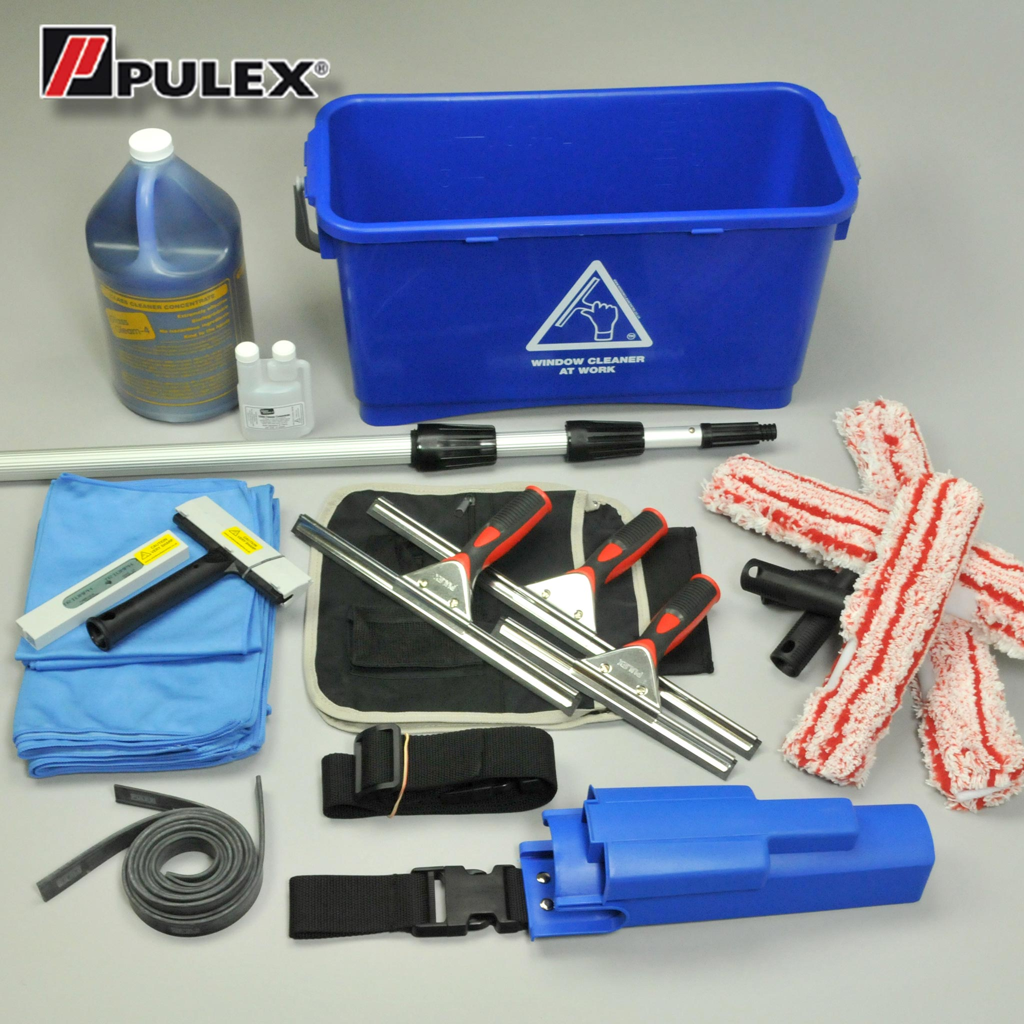 Pulex Window Cleaning Kit - Pro Plus