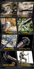 Tactical Walking Stick