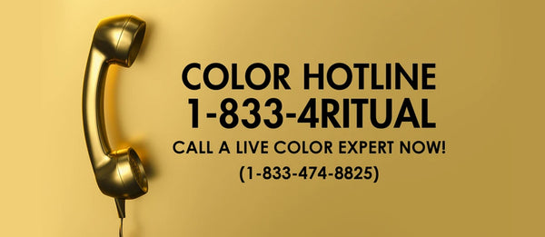 New Prorituals Hair Color Hot Line