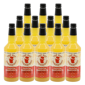 Top Hat Pasión Margarita Mix (Made with real passion fruit & agave nectar) - 12x32oz case