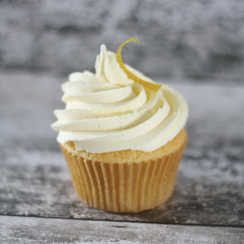 Signature Lemon Cupcakes - The Spinning Wheel GF Bakery