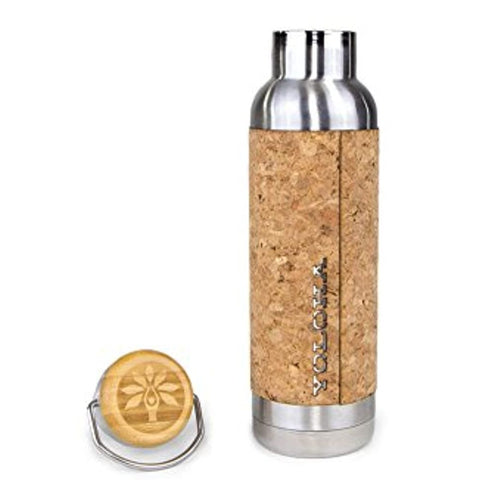 New Cork Water Bottle - RegeneratingMeLifestyle
