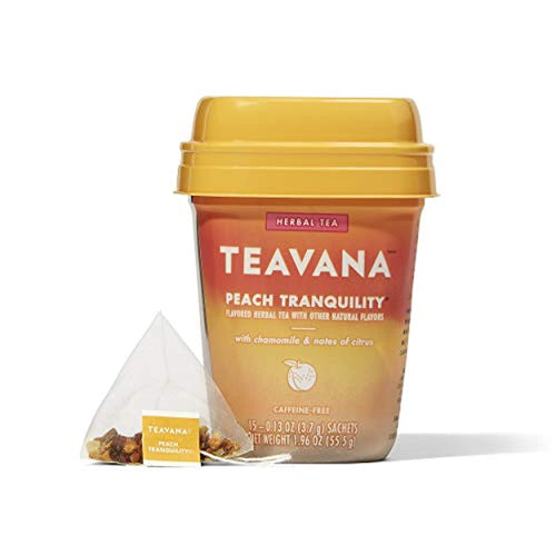 Teavana Peach Herbal Tea - RegeneratingMeLifestyle