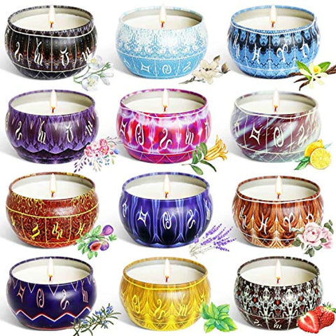 Aromatherapy Candles Set - RegeneratingMeLifestyle