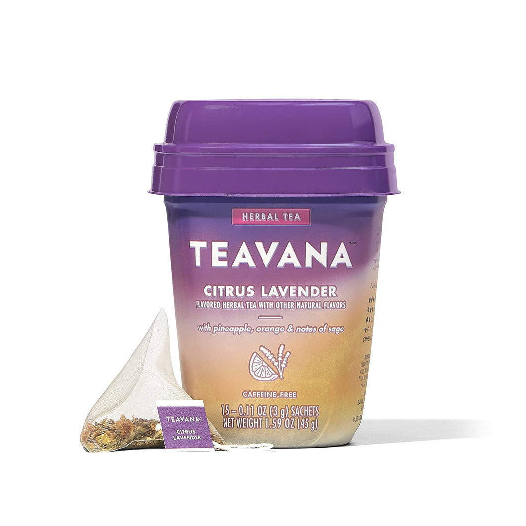 Teavana Citrus Herbal Tea - RegeneratingMeLifestyle