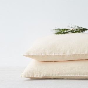 Shifting Sand Linen Pillowcase (100% Linen)