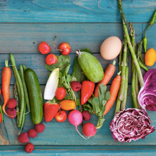 colorful vegetables for health and immunity