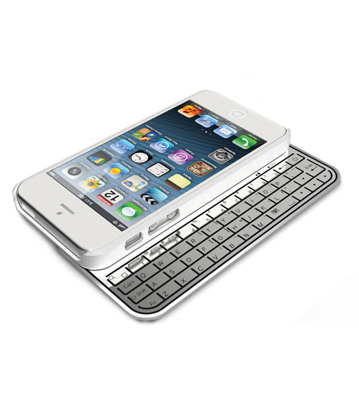 outlet store e0e10 d9704 iContact iPhone 5/5S Keyboard Case - White (IC-KB505)