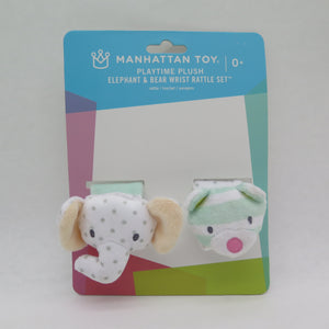 Wrist Rattle Bear&Elephant