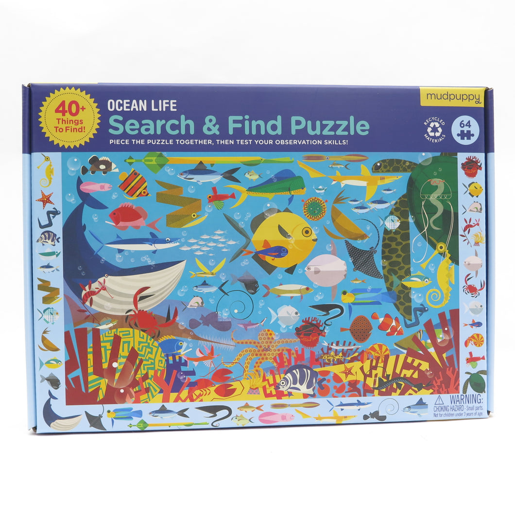 Search & Find Puzzle Ocean