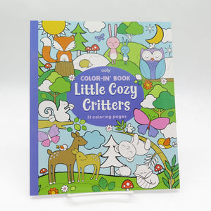 Color-in Book Cozy Critters