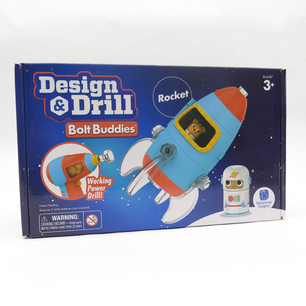 Design & Drill Bolt Rocket