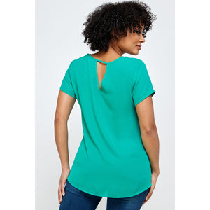 Carly Cutout Top