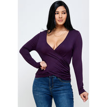 Load image into Gallery viewer, Bella Wrap Top