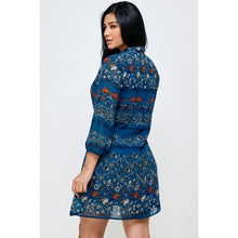 Load image into Gallery viewer, Lila Floral Mini Dress