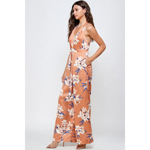 Melrose V-Neck Jumpsuit