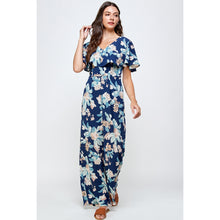 Load image into Gallery viewer, Karlie Floral Jumpsuit