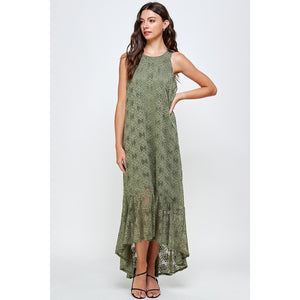 Sophia Lace Maxi Dress