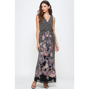 Arizona V-Neck Maxi Dress