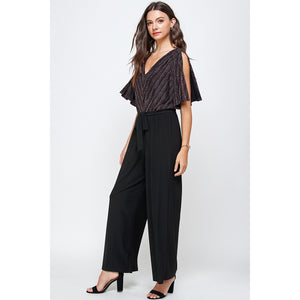 Accomplice Split Sleeve Jumpsuit