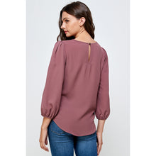 Load image into Gallery viewer, Maeve Pleated Shoulder Top