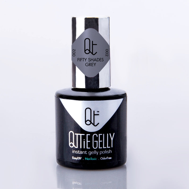 #2 Fifty Shades Grey Qttie Gelly Color Gel 7ml