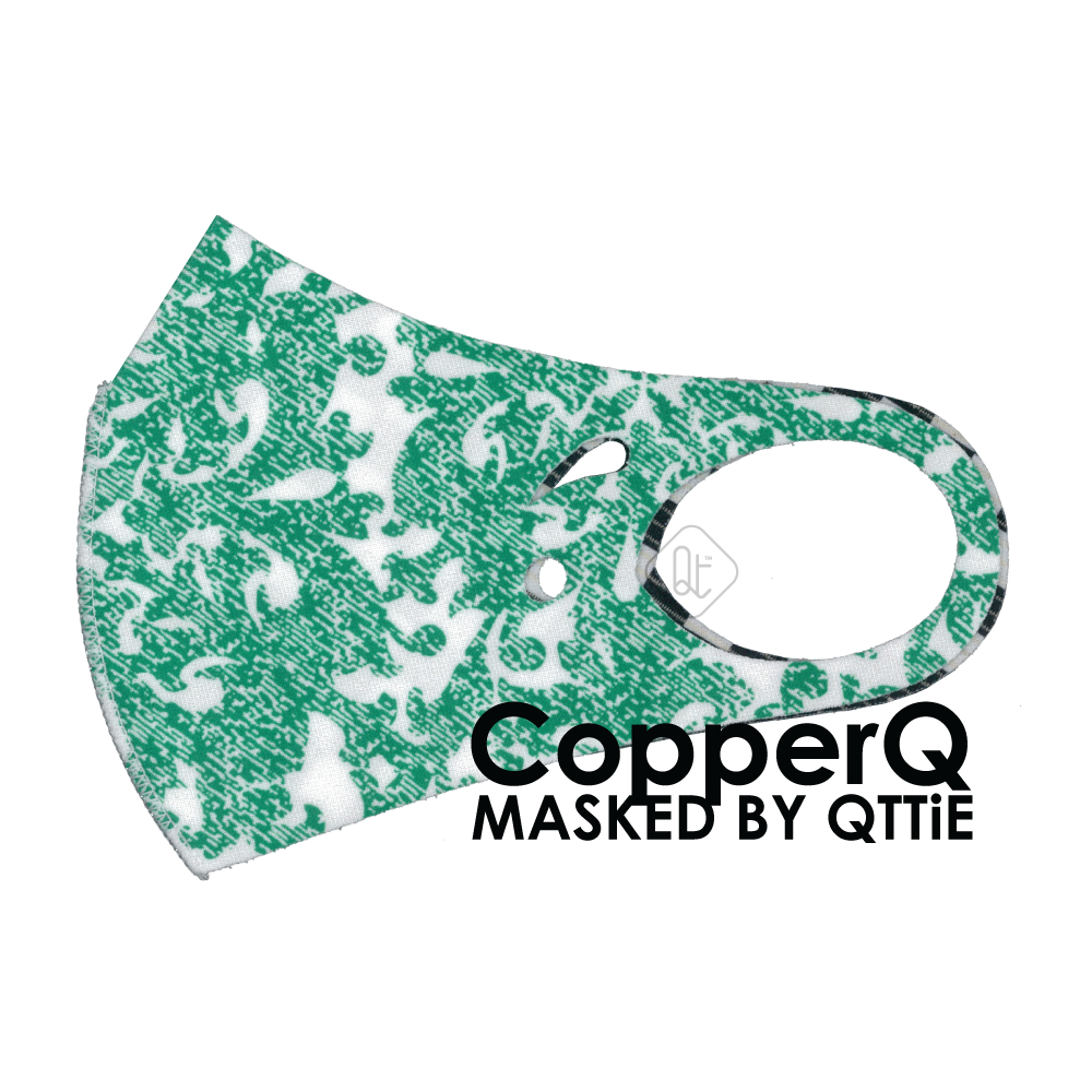 CopperQ Masked by Qttie Green