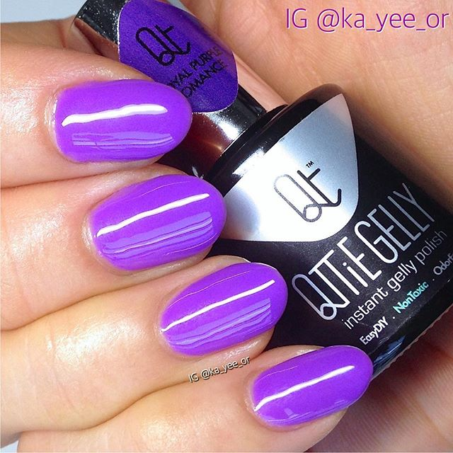 #10 Royal Purple Romance Qttie Gelly Color Gel 7ml