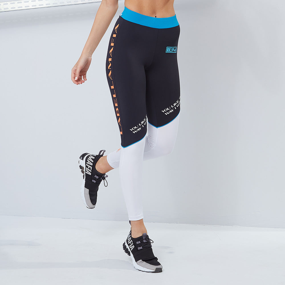 LEGGING ACQUA COLORS LABELLAMAFIA 20692