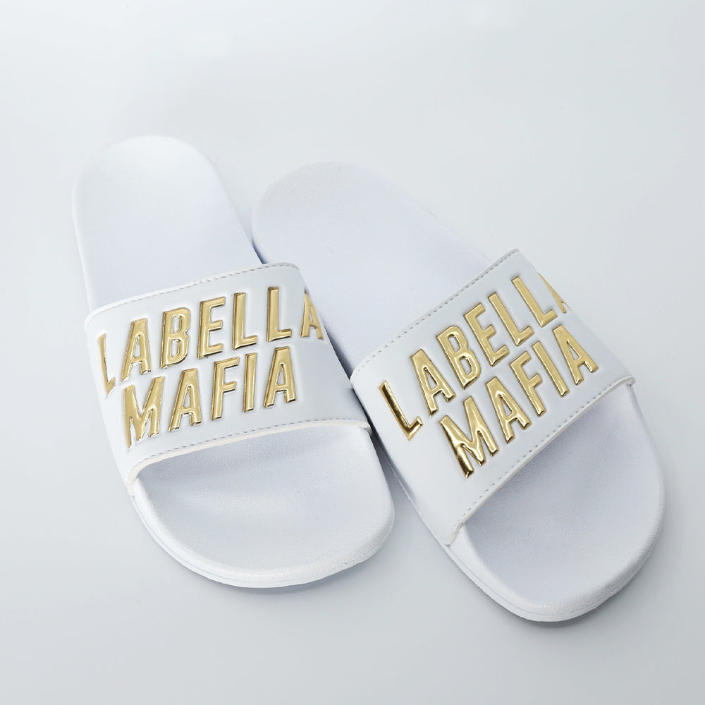 Chinelo Slide Golden