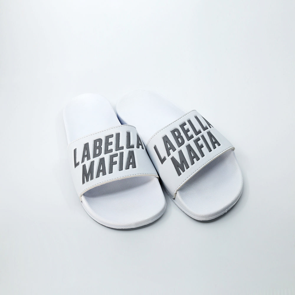 Chinelo Slide Silver