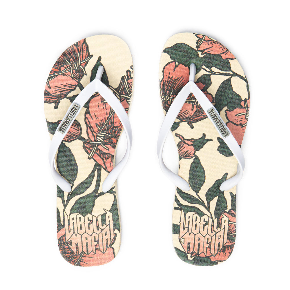 Chinelo Flip Flop Roses