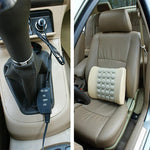 Electric Lumbar Support Cushion Pillow for Car