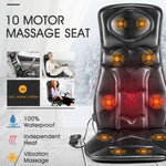 Vibration Massage Chair Seat Cushion w/ Heat