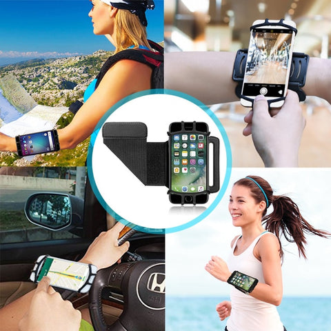 Smartphone Holder Arm Wrist Strap