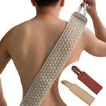 New Natural Soft Exfoliating Loofah Back Strap