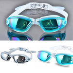 Professional Silicone Swimming Goggles Anti-fog