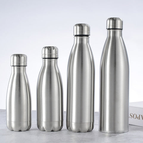 500/1000ml Stainless Steel Water Bottle