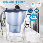 Activated Carbon Water Filter Purifier Pitcher