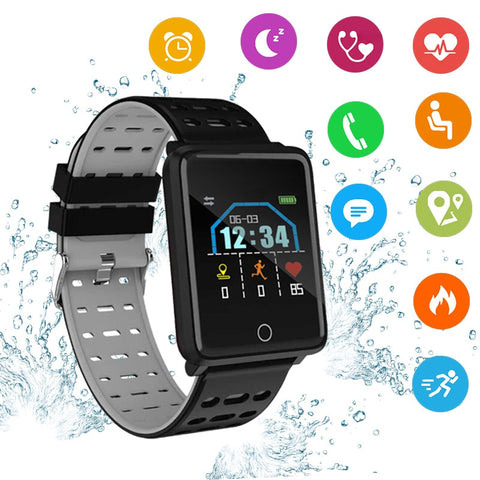 Portable Blood Pressure Digital Smart Wrist Watch