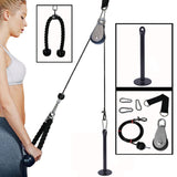 Pulley Cable System Adjustable Length Home Gym