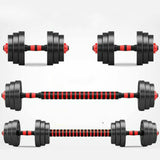 Detachable Adjustable Dumbbell Barbell