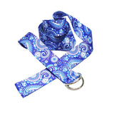 Color Printed Yoga Strap D Ring