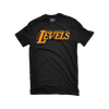 Los Angeles Levels Black & Gold T-Shirt
