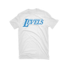 Los Angeles Levels White & Sky Blue T-Shirt
