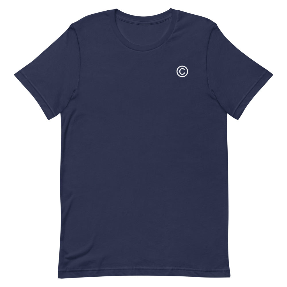 Navy/White © T-Shirt