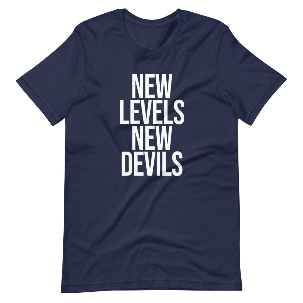 Navy/White ©NLND T-Shirt