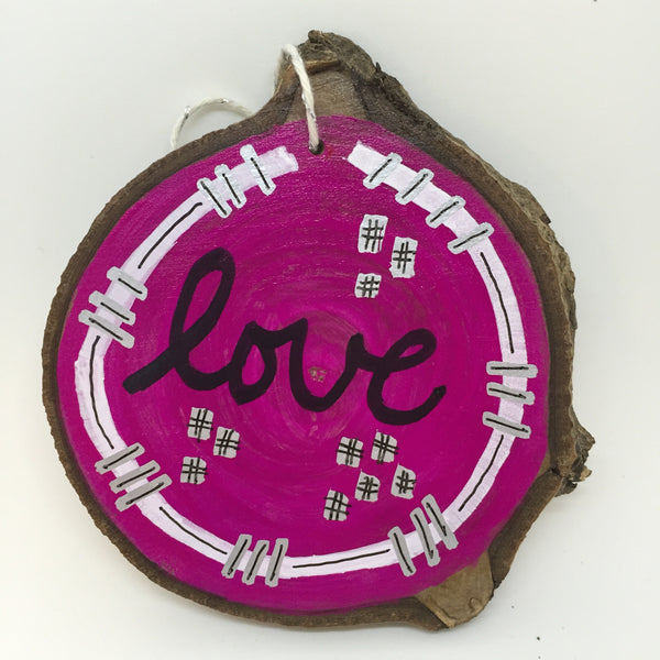 One of a Kind Love Ornament